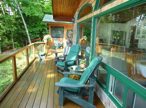 Cottage rental ontario muskoka georgian bay lake for Georgian bay cabin rentals