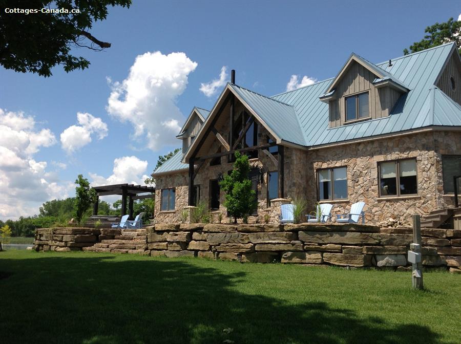 Cottage rental   Wolfe Island Lodge