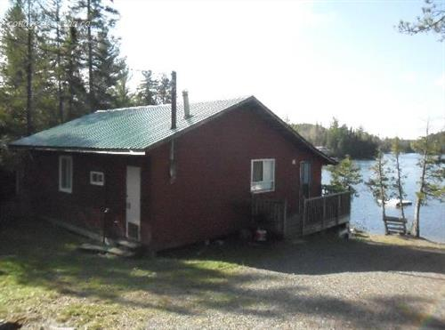 cottage rentals for outfitters Temagami, Northeastern Ontario