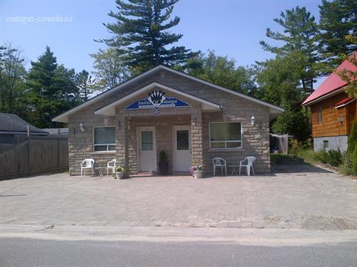 cottage rental ontario  southern georgian bay  wasaga