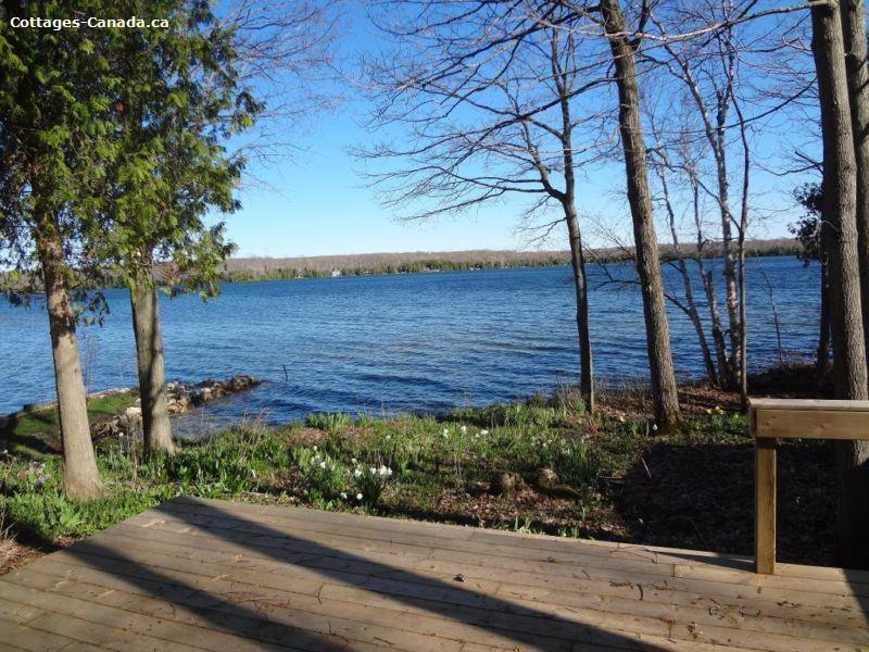cottage rentals Miller Lake, Bruce Peninsula