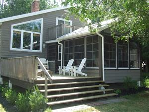 waterfront cottage rentals Huntsville, Muskoka