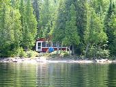 cottage rentals Missanabie, Northeastern Ontario